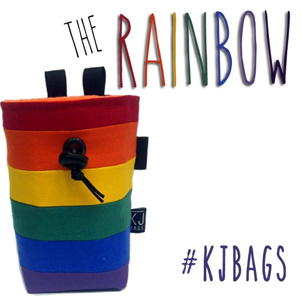 The Rainbow chalk Bag